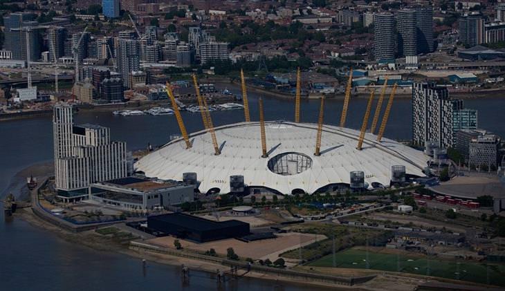 המבנים הגדולים בעולם: O2 ארנה