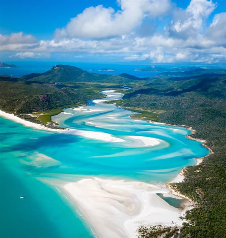 תחרות תמונות נוף של אגורה לשנת 2020: חופי ויטסאנדיי שבאוסטרליה