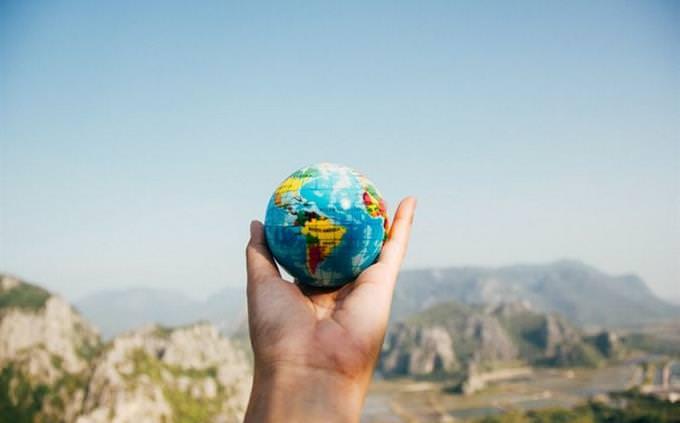 טריוויה על זמן: כדור ארץ בכף יד
