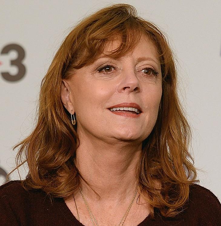 הנשים היפות ביותר מעל גיל 60: סוזן סרנדון