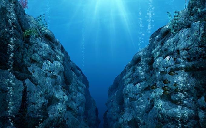 מבחן גיאוגרפיה: תהום תת ימי