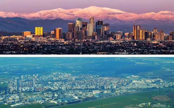 מבחן הקשרים: לוס אנג'לס וקריית מלאכי