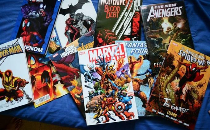 מבחן ידע כללי: חוברות קומיקס