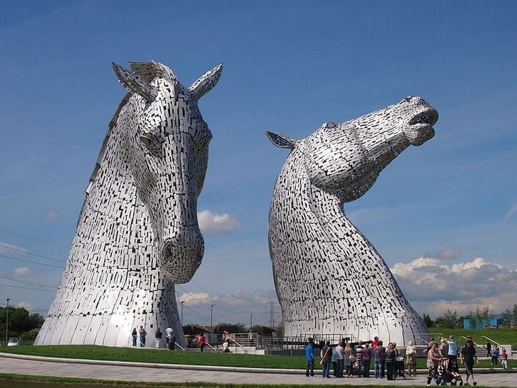 פסלי חיות מפורסמים מסביב לעולם: הקלפיז, פאלקירק סקוטלנד