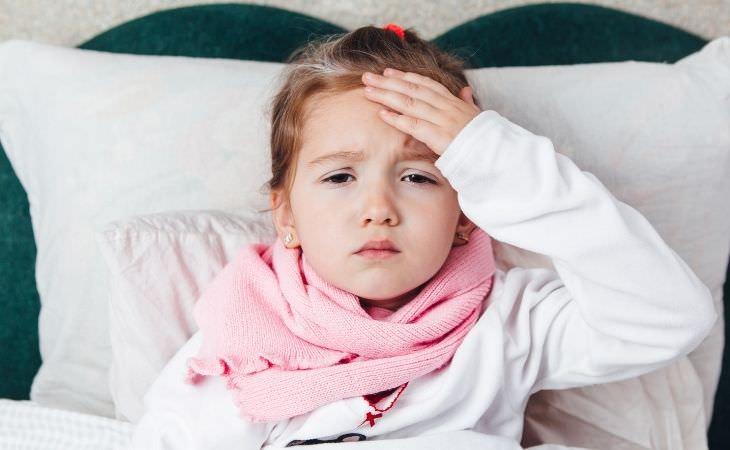 אוסף כתבות על מחלות אצל ילדים: ילדה חולה