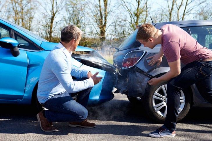 מידע על ביטוח רכב: תאונת דרכים