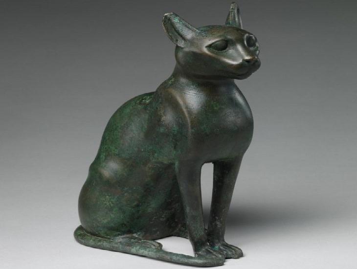בדיחה פוליטיקאים: פסל של חתול