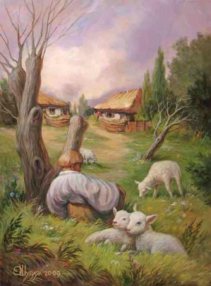 חידון מה אופי האהבה שלך לפי מה שתראה בתמונה: ציור