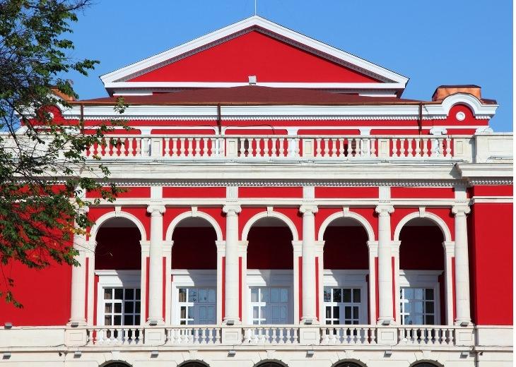 עיירות וכפרים בבולגריה: בניין ברוסה