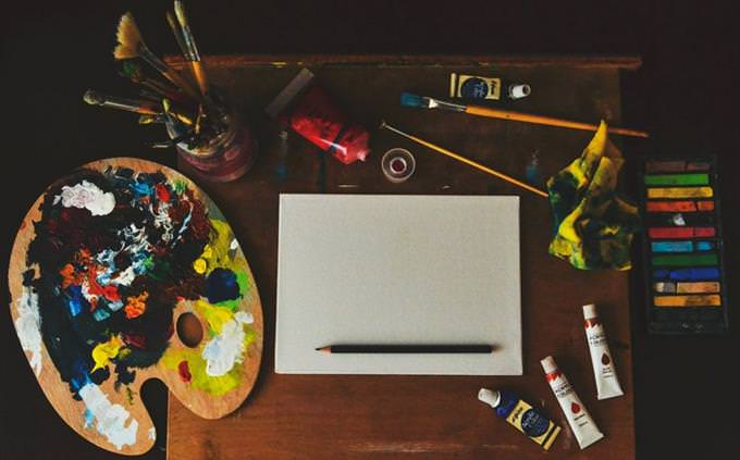 מבחן אישיות ושמחת חיים: ציוד ציור