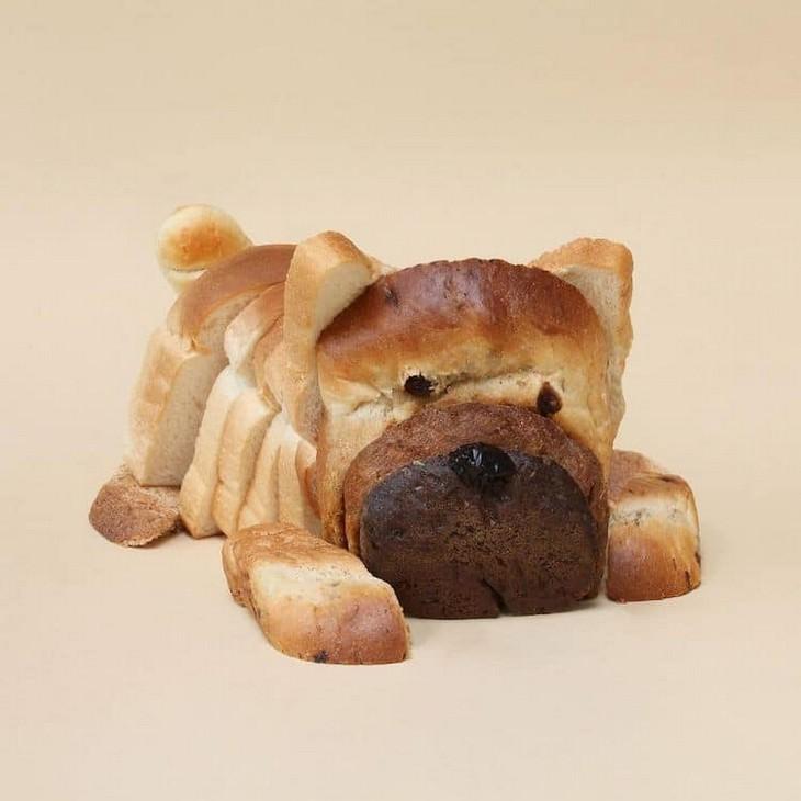אומנות משעשעת: לחם-כלב