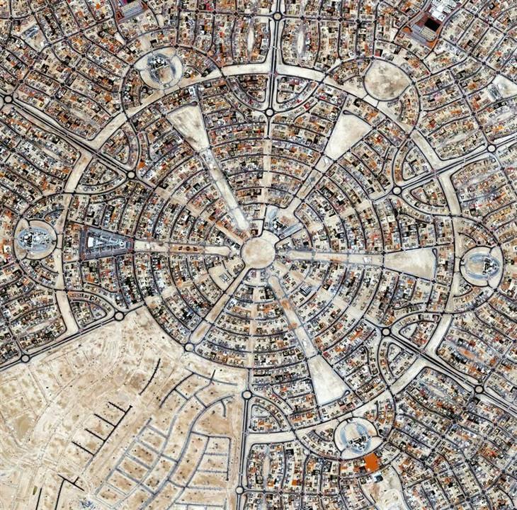 נופים עירוניים ממעוף הציפור: פרויקט הדיור אל פלאח