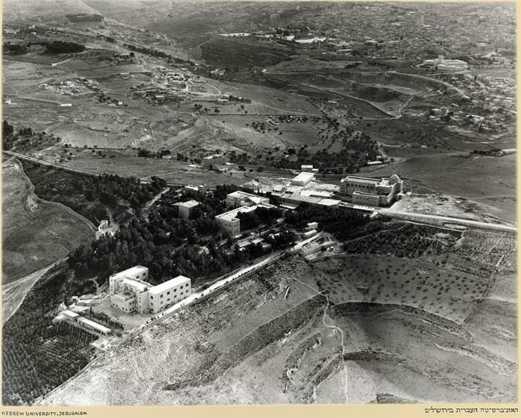 ארץ ישראל מהאווירון – 1937-38: האוניברסיטה העברית בירושלים