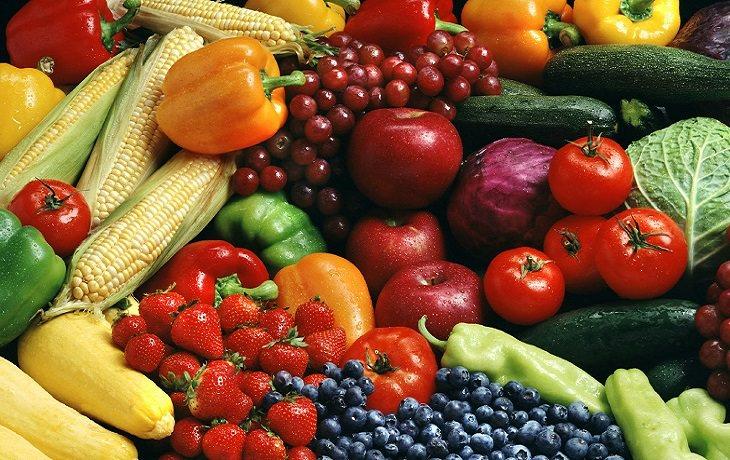 המלצות לצריכת פירות וירקות: פירות וירקות