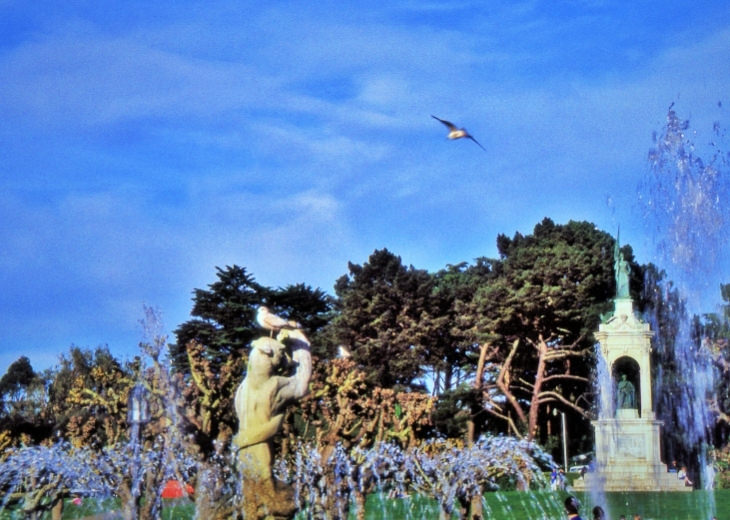 אטרקציות בסן פרנסיסקו: פארק שער הזהב