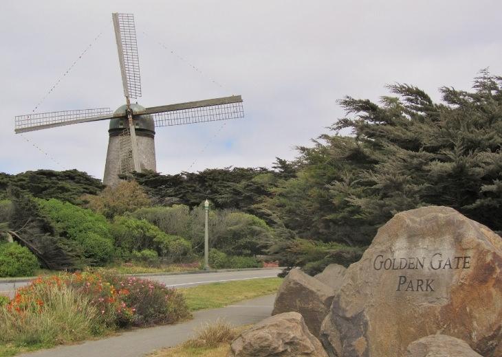 אטרקציות בסן פרנסיסקו: הכניסה לפארק שער הזהב