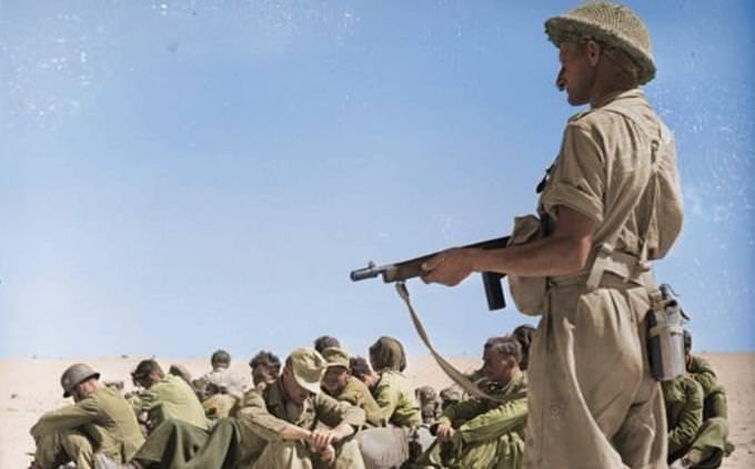 מבחן ידע כללי עם השלמת תשובות: חיילים במלחמת העולם השנייה באפריקה