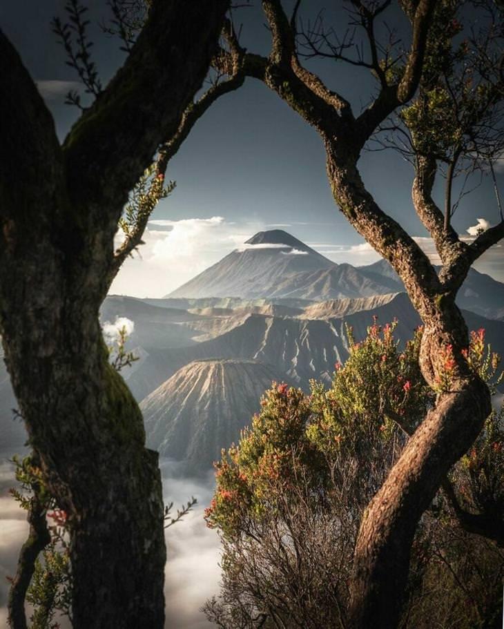 תמונות מדהימות: הר ברומו, אינדונזיה