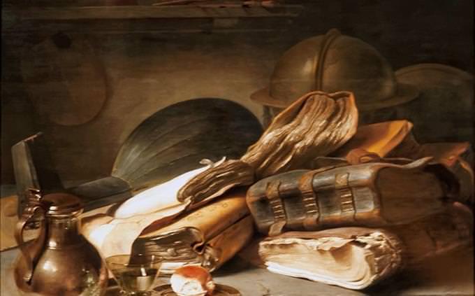 איזה סוג אומנות שוכן בנפש שלך: ציור של ספרים