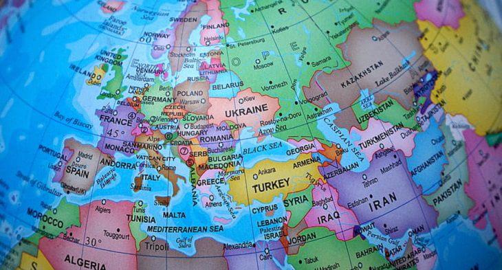 זכויות ניצולי שואה: מפת אירופה