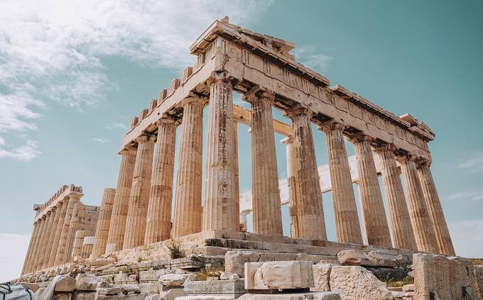 מבחן של תחומי עניין לפי אסוציאציות: הפרתנון באתונה