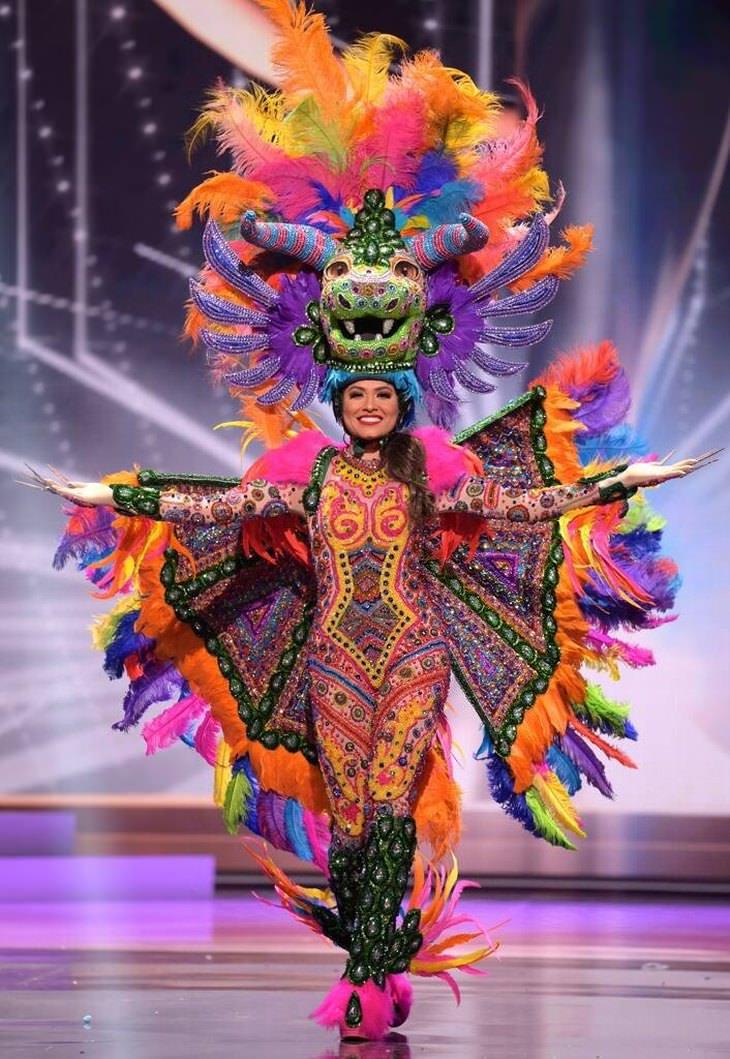 תלבושות מיס תבל 2021: מיס מקסיקו