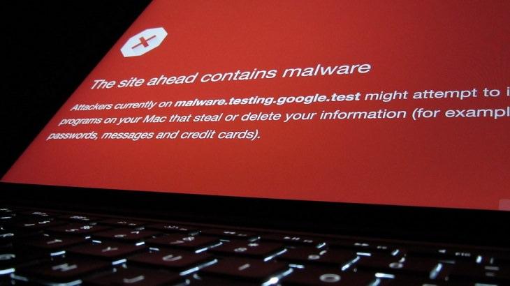 מידע חשוב על נוזקות: הודעות אזהרה מפני נוזקה של דפדפן