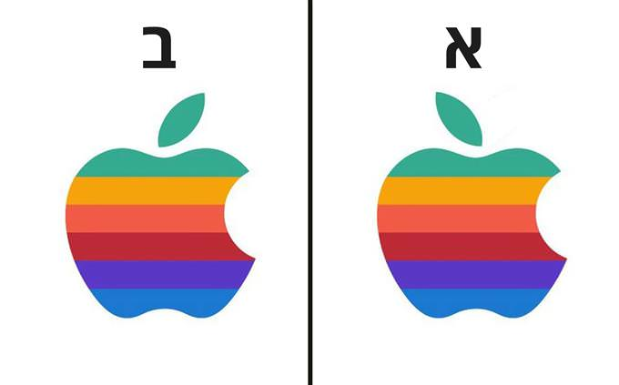 מבחן לוגו: אפל