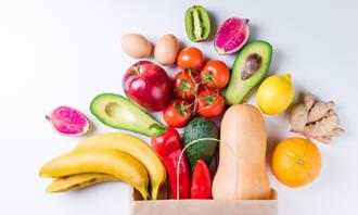 מצא את ההבדלים: פירות וירקות