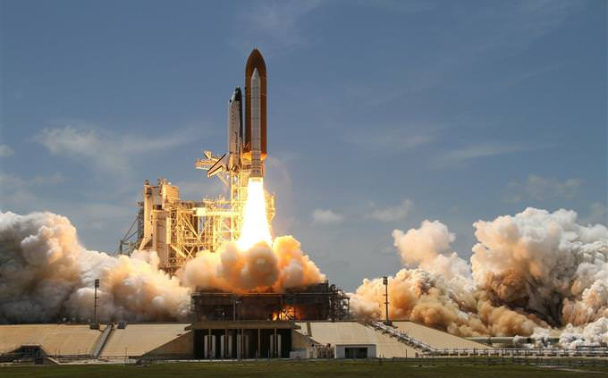 מבחן זיהוי דמויות היסטוריות: שיגור מעבורת חלל