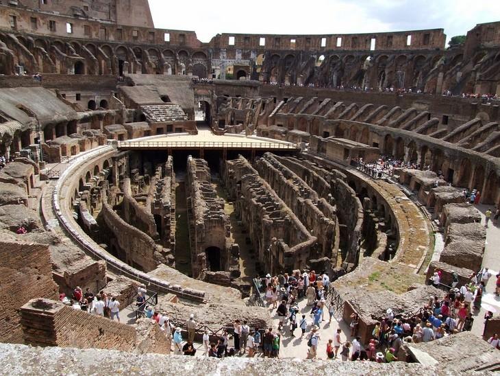עובדות על פלאי תבל: הקולוסיאום