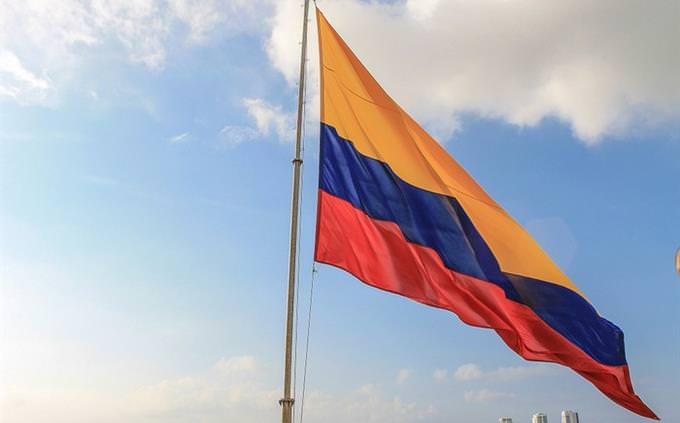 מבחן גיאוגרפיה - השלם את החסר: דגל קולומביה