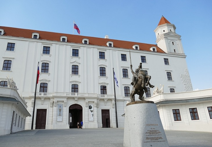 אטרקציות בברטיסלבה: טירת ברטיסלאבה