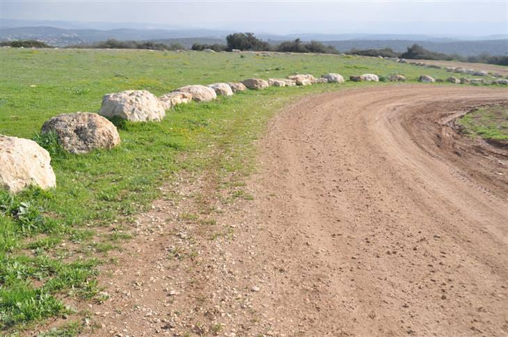 מסלולי טיול בשפלת יהודה: מסלול הליכה בפארק בריטניה