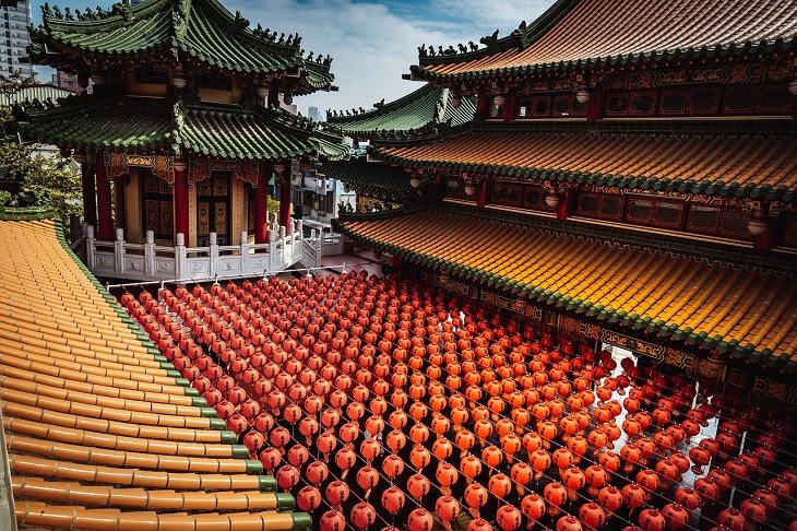 יעדים בטאיוואן: מקדש סיני בגאושינג