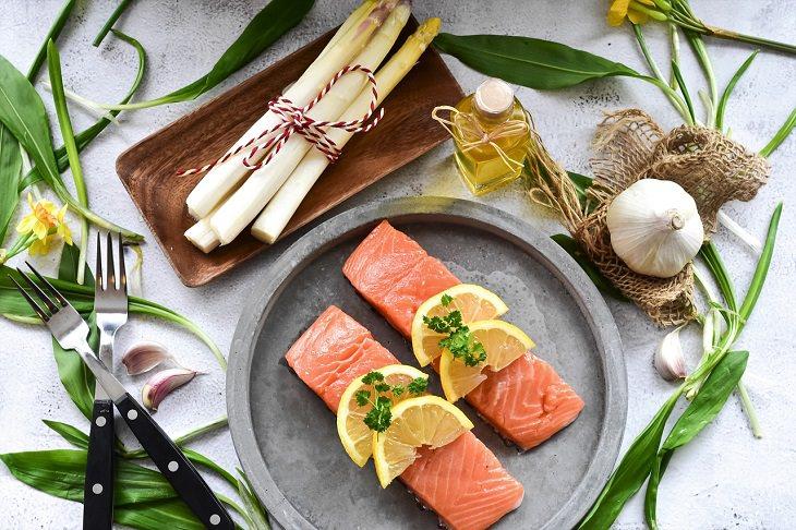 דגי המאכל הבריאים ביותר: מנת סלמון
