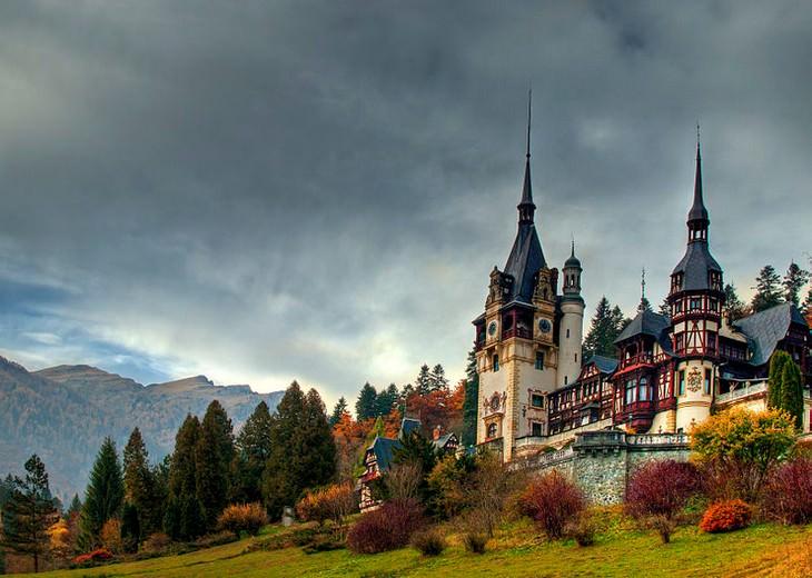 טירות ברומניה: ארמון פלש