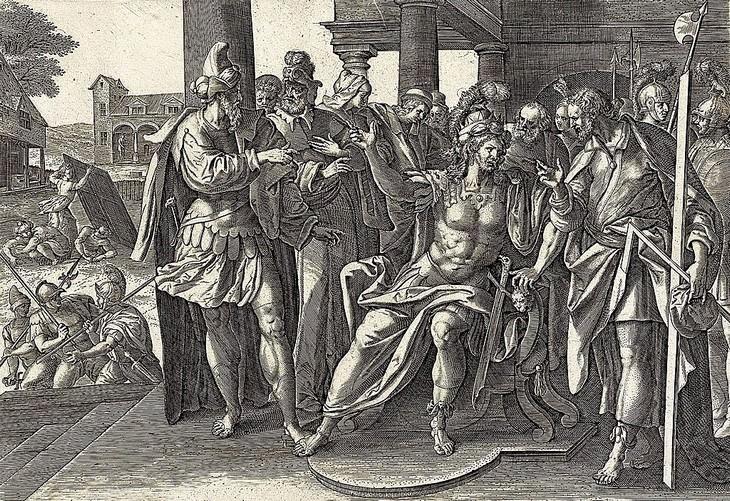 """עובדות וסיפורים מהתנ""""ך: ציור של אחיתופל וחושי הארכי"""