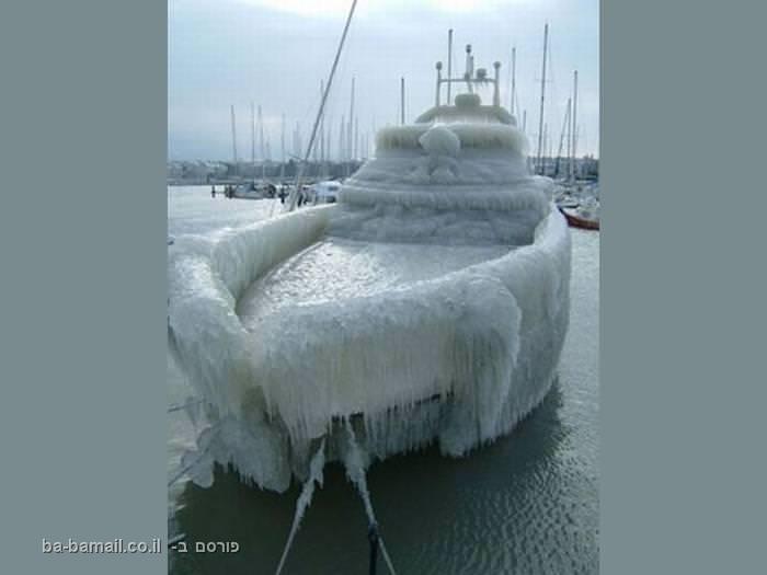 כשאצלנו מחכים לטיפטופים, סופות קרח פוקדות את העולם