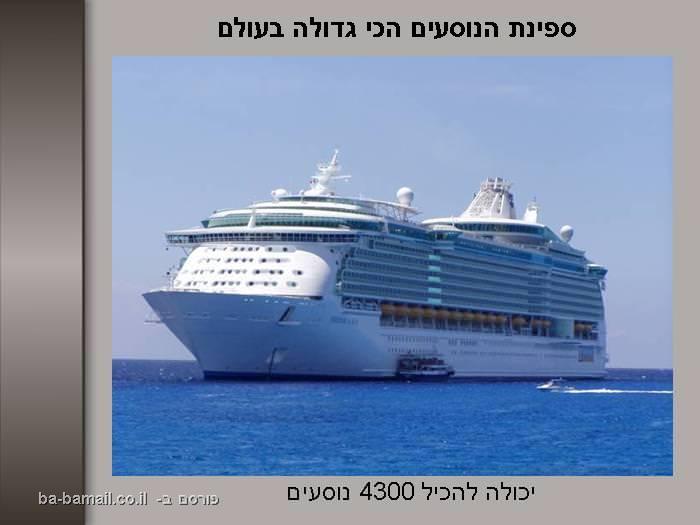 שיאי גינס, עולם, גדול, תמונה, ספינה