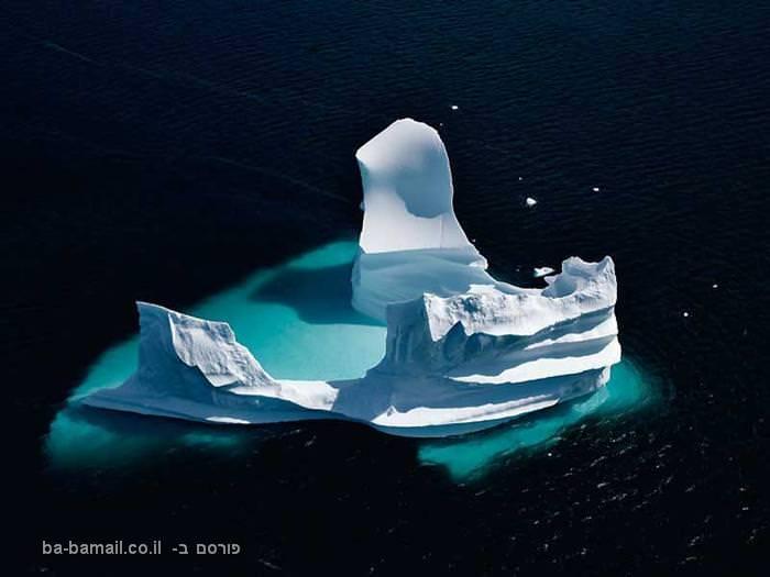 ים, מים, קרחון