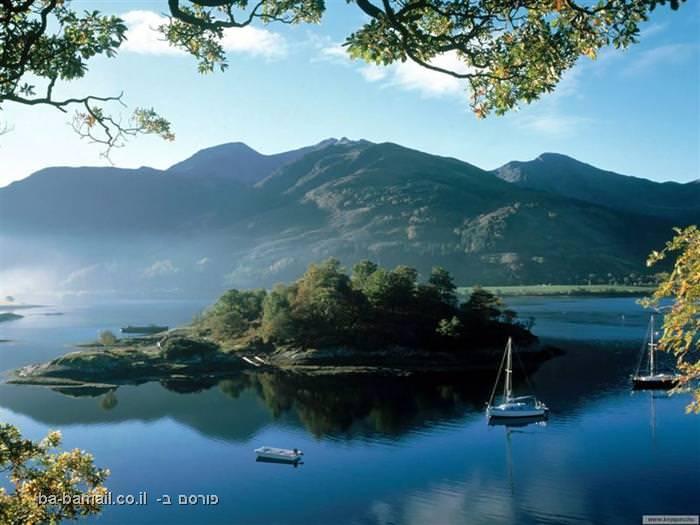 סקוטלנד, בריטניה, אגם, לוך
