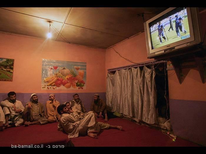 אפגניסטן, אפגנים, טלוויזיה, משחק קריקט