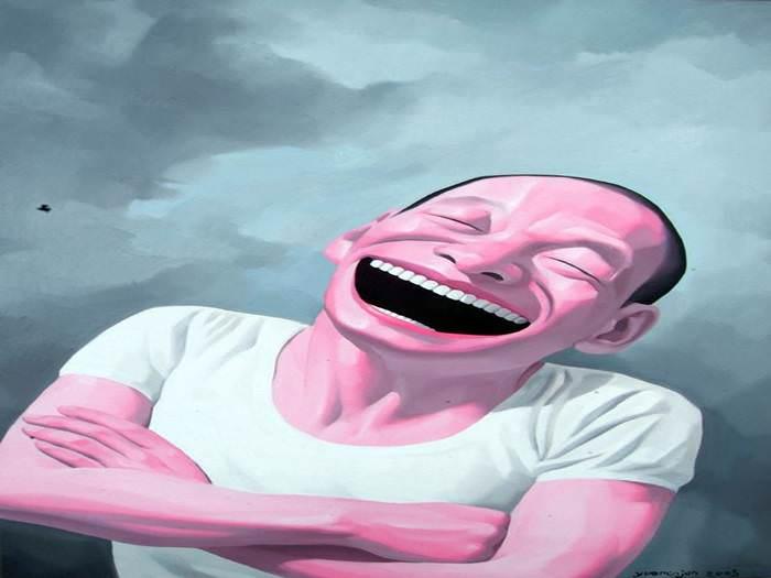 תמיד בשמחה - יצירותיו של הצייר הצוחק