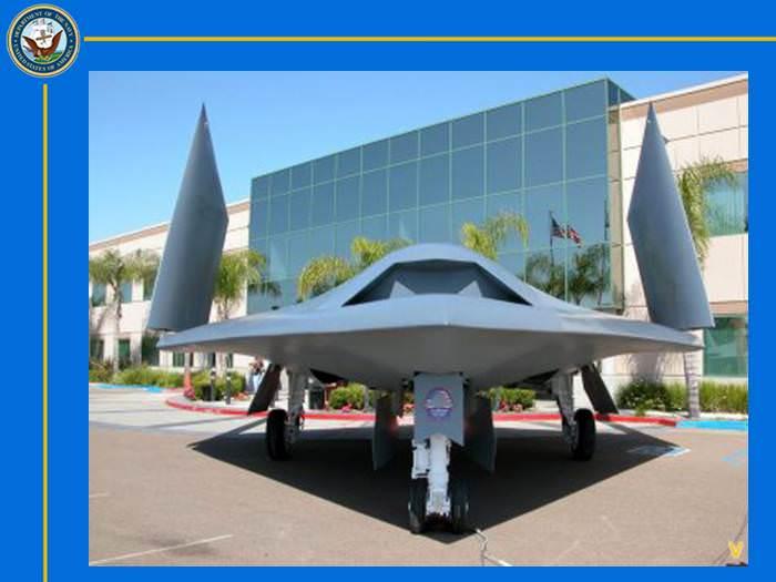 ארה``ב גאה להציג את המטוס הרובוטי המתקדם בעולם!