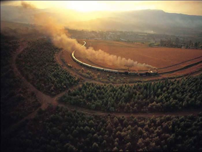 גאוות אפריקה - רכבת הפאר במחיר של 1,300$ לכרטיס