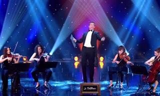 השורק: מופע מוזיקה קלאסית נפלא של פרד רדיקס