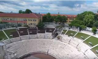 סרטון מרהיב מאחת הערים העתיקות באירופה - פלובדיב שבבולגריה