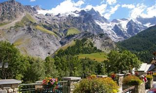 10 עיירות נופש וסקי ציוריות בהרי האלפים