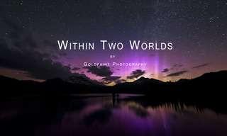 בין שתי עולמות - טבע עוצר נשימה!